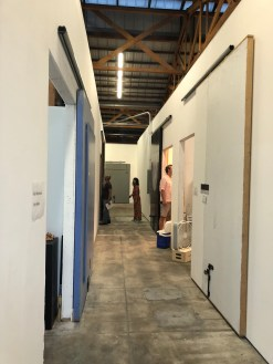 Keystone Art Space Open studios, June 2018.