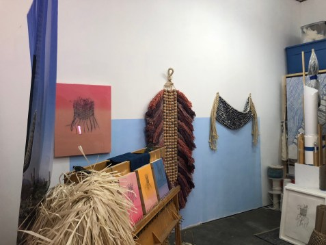 Liz Robb in Keystone Art Space Open Studios June 2018