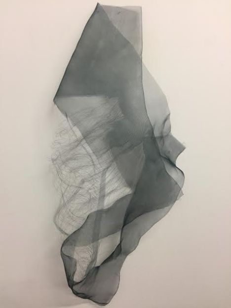 Nancy Ivanhoe - Wire Study 1. In the Stillness Between Two Waves of the Sea. Durden and Ray. Photo courtesy of Durden and Ray
