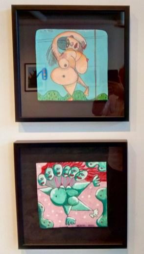 James Scott, Pregnant Women 1 in Little Britain at Vita Art Center. Photo credit: Patrick Quinn.