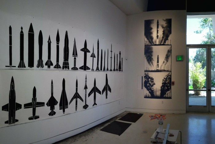 in Studio System 2 at Torrance Art Museum. Photo courtesy of the artist.