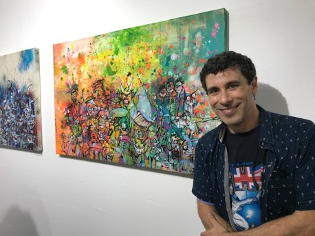 Jason Ostro. Remix: The Art of Music. Gabba Gallery. Photo Credit Genie Davis