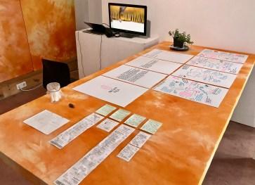 Tita Salina and Irwan Ahmett_Arisan Plan 02_PALA LAB at SomoS Art Space_photo by Lara Salmon