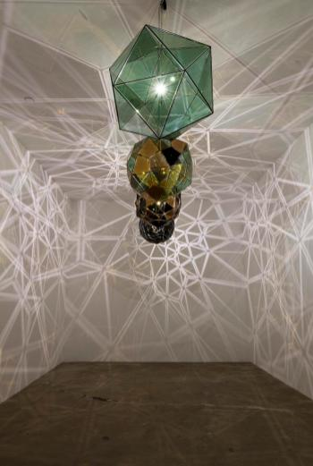 Olafur Eliasson, installation view with Your self-need at Tanya Bonakdar Gallery. Photo credit: Shana Nys Dambrot