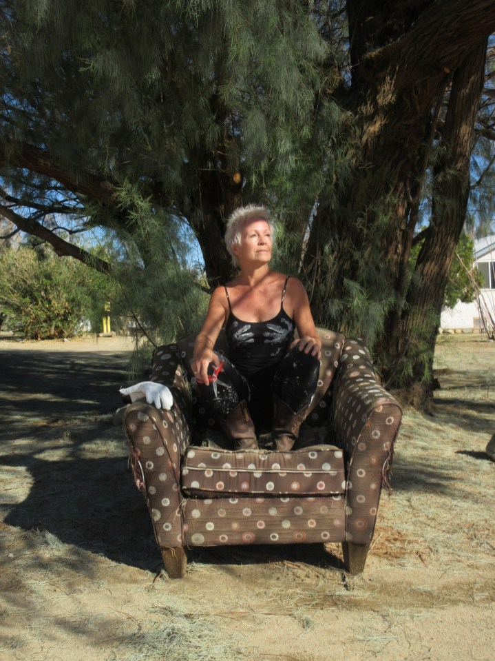Lilli Muller: The Mandala Project at The Joshua Tree Retreat Center. Photo courtesy of the artist.