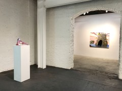 Lisa Adams, A Piebald Era, Installation View. Photo courtesy Garis & Hahn.