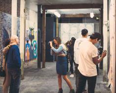 Art at the Rendon. Photo courtesy Cartwheel Art