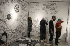 Drawing Museum Tehran. Photo courtesy of the artist.