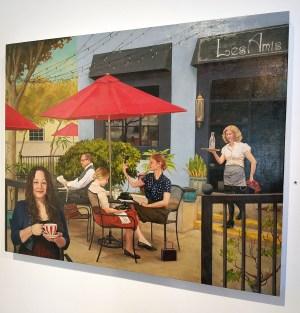 Serena Potter, Inside Out, Lois Lambert Gallery; Photo credit Kristine Schomaker