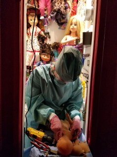 Miss Art World, Alterations, Shoebox Projects; Photo credit Kristine Schomaker