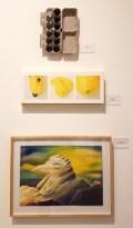 Analia Saban, Lesley Krane, The Dark Bob, Blinky the Friendly Hen, CSUN Art Gallery; Photo Credit: Kristine Schomaker