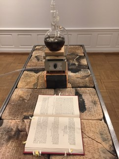 "Candice Lin, ""On Being Human (Chinese Room)"", The inscrutable speech of objects, Weingart Gallery; Photo credit: Lorraine Heitzman"
