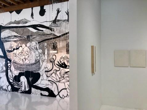 William Downs and Pamela Smith-Hudson, installation, E.C. Lina; Photo credit Shana Nys Dambrot