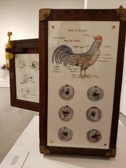 James Goodwin, Blinky the Friendly Hen, CSUN Art Gallery; Photo Credit: Kristine Schomaker