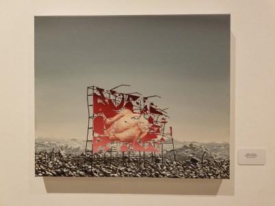 Jeffrey Gillette, Blinky the Friendly Hen, CSUN Art Gallery; Photo Credit: Kristine Schomaker