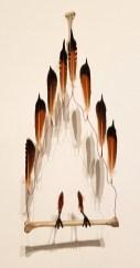 Sarah Perry, Blinky the Friendly Hen, CSUN Art Gallery; Photo Credit: Kristine Schomaker