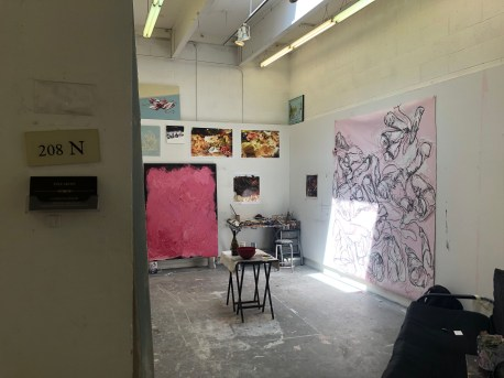 Claremont Graduate University MFA Open Studios. Caitlyn Lawler. Photo credit: Chelsea Boxwell.