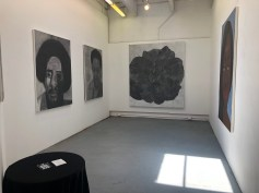 Claremont Graduate University MFA Open Studios. Deitra Charles. Photo credit: Chelsea Boxwell.