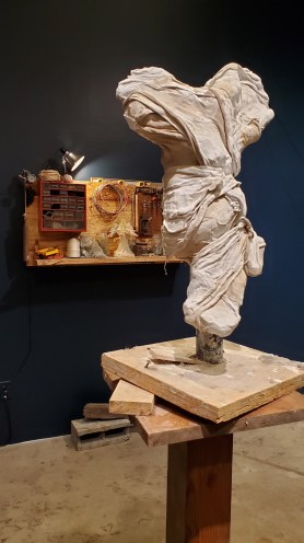 Parris Patton, Sculpture, Good Luck Gallery; Photo credit Kristine Schomaker