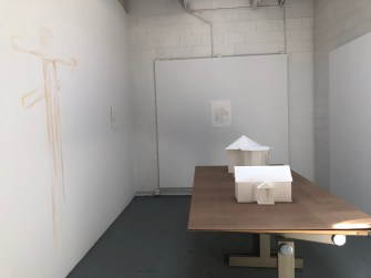 Claremont Graduate University MFA Open Studios. Samantha Fitzmorris. Photo credit: Chelsea Boxwell.