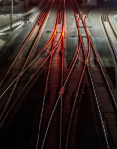 Diane Cockerill, Glowing Tracks; Image courtesy of the artist