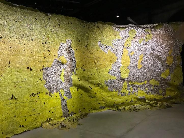 El Anatsui, Venice Biennale, Venice, Italy.