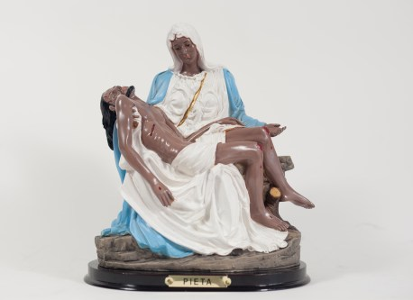 Linda Vallejo, Make 'Em All Mexican: La Pieta, Brown Belongings, LA Plaza de Cultura y Artes; Image courtesy of the artist