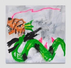Robert Nava, Tigress Snake, Punch Curated by Nina Chanel Abney, Jeffrey Deitch; Photo credit Elon Schoenholz