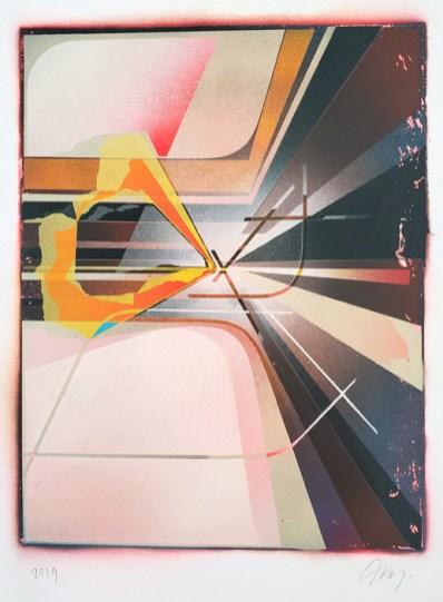 Alex Couwenberg, LA Painting, MOAH; Photo credit Kristine Schomaker