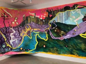 Amy Kaps/Kaye Freeman, Anatomy of a Painting,LA Painting, MOAH; Photo credit Betty Ann Brown
