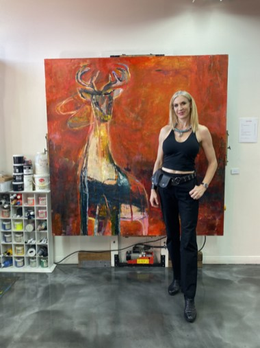 Emily Halpern, Brewery Artwalk; Photo Credit Dani Dodge