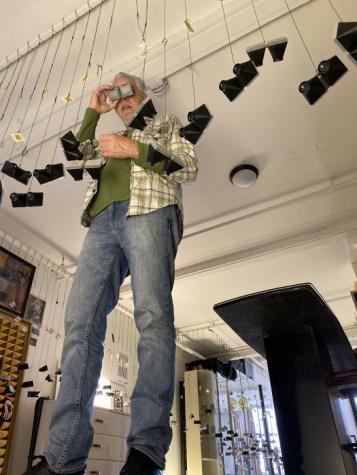 Jim Payne, Brewery Artwalk; Photo Credit Dani Dodge