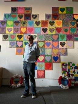 Patrick Guerre, Brewery Artwalk; Photo Credit Dani Dodge