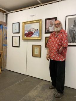 The Drawing Group, Robert Duggan, Brewery Artwalk; Photo Credit Dani Dodge