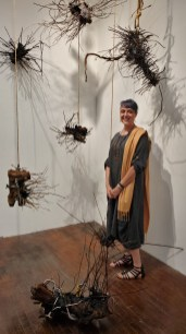 Katie Stubblefield, Scavengers, The Loft Studios and Gallery; Photo credit Kristine Schomaker