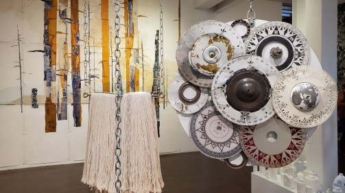 Renee Tanner, Scavengers, The Loft Studios and Gallery; Photo credit Kristine Schomaker