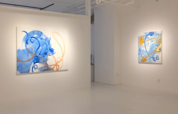 Mark Sheinkman, New Paintings 2019, Von Lintel Gallery; Image courtesy of the gallery