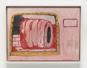 ©Philip Guston, Untitled (Roma), 1971, Resilience: Philip Guston in 1971, Hauser & Wirth Los Angeles; Image courtesy of the gallery