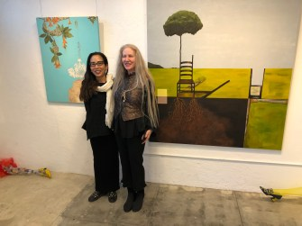 Kaoru Mansour and Kira Vollman, Uncommon Denominators, ARK Gallery; Photo credit Betty Brown