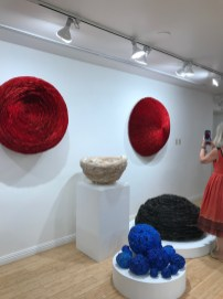Echiko Ohira, Finding the Center, Craft Contemporary; Photo credit Genie Davis