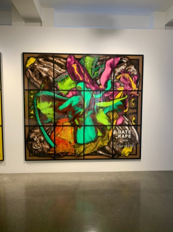 Gilbert & George, DATE RAPE, PARADISICAL PICTURES, Spruth Magers; Photo credit Sydney Walters