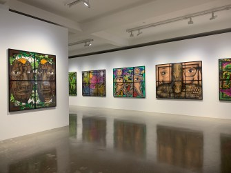 Gilbert & George, PARADISICAL PICTURES, Spruth Magers; Photo credit Sydney Walters