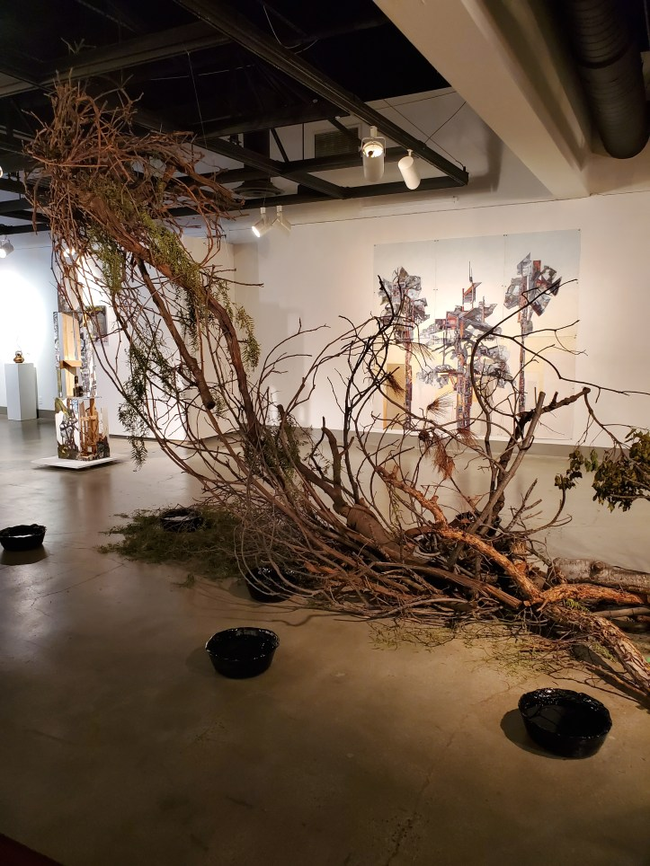 Installation View, Kellogg University Art Gallery