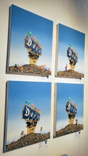 Jeffrey Gillette. LA Art Show, LA Convention Center; Photo credit Kristine Schomaker