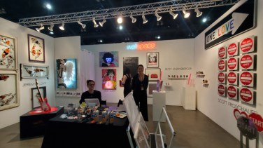 WallSpace. LA Art Show, LA Convention Center; Photo credit Kristine Schomaker