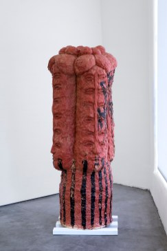 Raven Halfmoon, CADDO DANCING IN BINGER, OKLAHOMA, The Body, the Object, the Other, Craft Contemporary; Image courtesy of the gallery