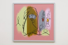 Don Suggs, Horizon, Face-Off, L.A. Louver; Image courtesy of the gallery