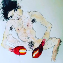 Eve Wood, Lobster Hands; Image courtesy of the artist
