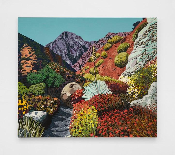 Hilary Pecis, Gabrielino, The Beatitudes of Malibu, David Kordansky Gallery; Photography courtesy the Estate of Jane Freilicher and Kasmin