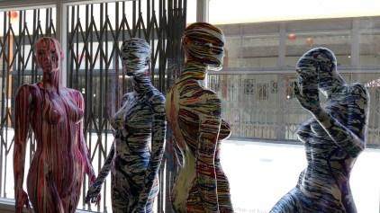 Kristine Schomaker Nature vs. Nurture at Red Pipe Gallery, Chinatown Los Angeles, California